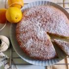Torta all'arancia con zenzero e cannella [senza latte]