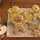Biscotti pan di zenzero [senza latte]