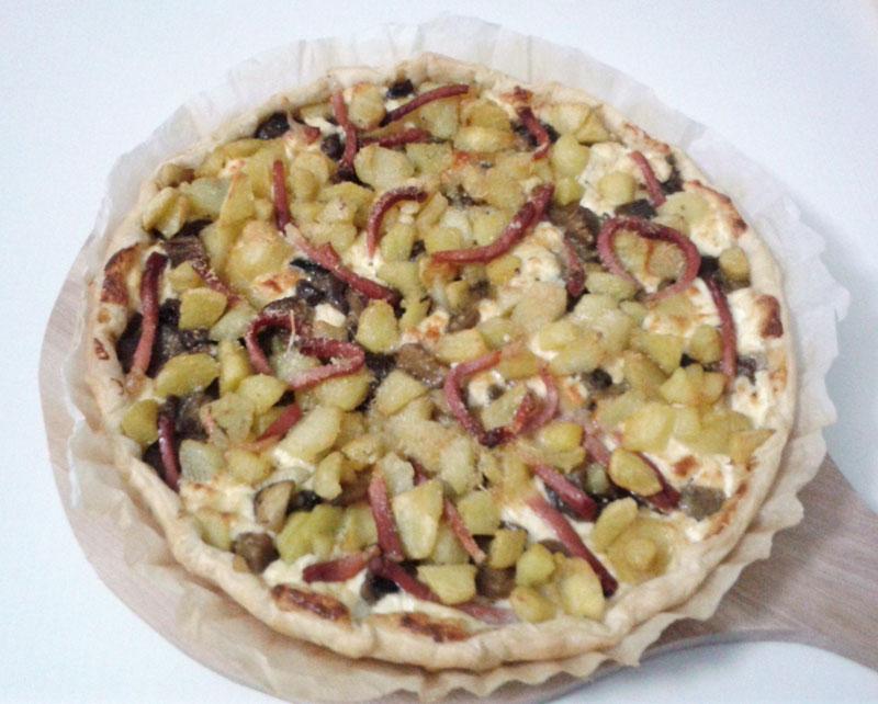 Ricetta pasta sfoglia ripiena ai funghi ricette popolari for Torte salate con pasta sfoglia