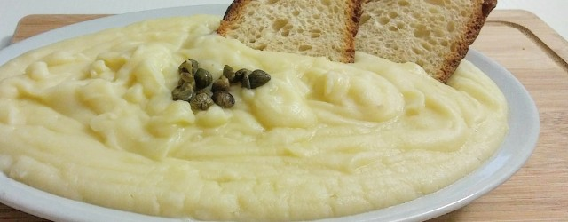 vellutata patate e cavolfiore