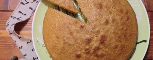 torta al cocco senza latte