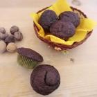 Muffin all'acqua cioccolato e noci