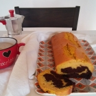 Plumcake zucca e cacao [senza latte]