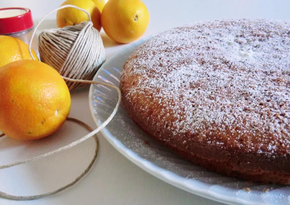 torta all' arancia senza latte